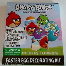 ANGRY BIRDS - ROVIO DUDLEY - EASTER EGG DECORATING KIT - PARTY SUPPLIES - BNIP!