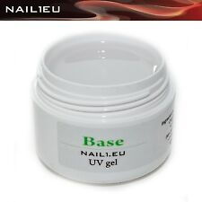 "Haft-Gel, klar, morbido, liquido ""NAIL1EU BASE"" 7 ml/ UV Gel di BASE"