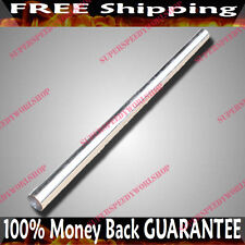 """3"""" x 5' OD DIY Stainless Steel Tube for Exhaust Straight Piping 3x5 Feet Long"""