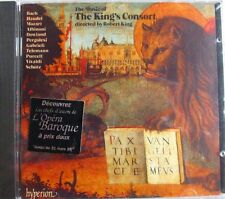 CD THE MUSIC OF THE KING'S CONSORT   ROBERT KING  NEUF SCELLE