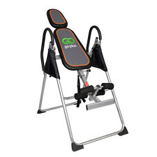 New Foldable Premium Gravity Inversion Table Back Therapy Fitness Reflexolo -