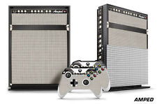 Designer Skin for XBOX ONE S 1S Gaming Console+2 Controller Sticker Decal AMPED