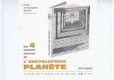 """PUBLICITé DE LA REVUE PLANETE """"ENCYCLOPEDIE PLANETE"""""""