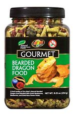 Zoo Med Gourmet Bearded Dragon Food 8.25 oz Reptile Lizard