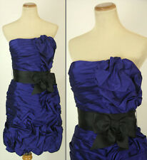 Jovani Size 6 Royal Cruise Summer Evening Prom Formal Strapless $320 Short Gown