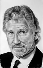 Roger Waters - portrait ritratto GIGANTE grafite e carboncino cm. 75 x 120