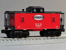 LIONEL NEW YORK CENTRAL CABOOSE O GAUGE train nyc red 6-82984 C NEW