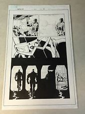WEAPON X #21 original art PG 18,19 AGENT ZERO, MARROW, GENE NATION, FAREWELL!