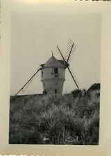 PHOTO ANCIENNE - VINTAGE SNAPSHOT - MOULIN À VENT AILES - WINDMILL WINGS