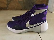 NEW MENS NIKE HYPERDUNK 2015 PURPLE BASKETBALL SHOES SIZE 10.5