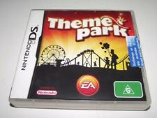 Theme Park Nintendo DS 3DS Game Preloved *Complete*