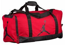 NIKE JUMPMAN AIR JORDAN SPORT DUFFEL Gym Basketball BAG BLACK RED 23 NEW