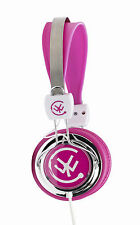 Urbanz ZIP Girls Childrens Kids Teens Lightweight DJ Style Headphones Pink