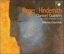 NEW - Cl Qnts by Reger; Hindemith