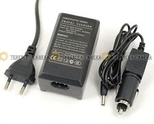 EU Plug BATTERY CAR CHARGER 4 Pentax D-Li8 Optio W20 S7