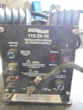 NewMar 115-24-10A 115/230VAC to 24VDC Regulated Linear DC Power Supply