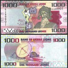 Sierra Leone 1000 LEONES 2010 P 30 UNC