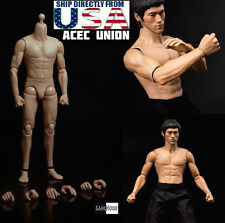 In stock 1/6 Muscular Male Body GangHood 2.0 For Bruce Lee As Hot Toys DX04