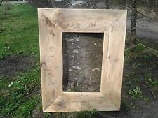 Rustic Reclaimed Wood Driftwood Picture Canvas Photo Frame Shabby Chic Chunky