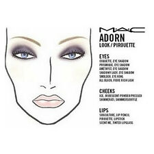 1700+ MAC Makeup Face Charts Cosmetics Training Manual
