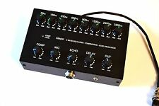8 Band Sound Equalizer Echo Compressor to ICOM Radio 8 pin mic transceiver IC-
