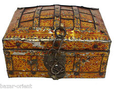 antik kiste truhe schmuckkasten Schatztruhe antique islamic trinket box 19 Jh.-G