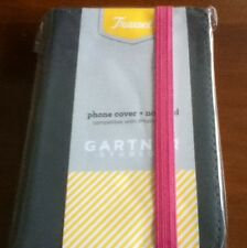 GARTNER STUDIO PHONE COVER + NOTEPAD COMPATIBLE WITH iPHONE 4/4S