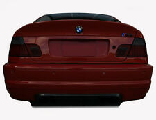 00-06 BMW 3 (COUPE) tinted smoked vinyl overlays tail light covers film E46 m3