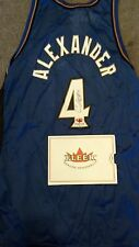 2000-01 Fleer Legacy Basketball Courtney Alexander Autographed Jersey