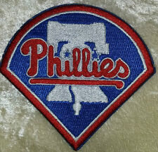 "Philadelphia Phillies 3"" Iron On Embroidered Patch~USA Seller~FREE Ship!"