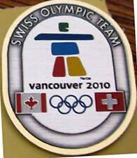 "Vancouver 2010 Switzerland "" BIG SWISS"" Olympic NOC Team Delegation pin"