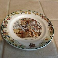 "Villeroy  & Boch FOXWOOD TALES Store Plate 6 3/4"" EXCELLENT"