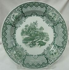 "SPODE ARCHIVE COLLECTION VICTORIAN SERIES JUNE SEASONS DINNER PLATE10 3/8"" EUC"