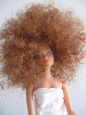 Afro Wig fits Barbie Doll Auburn Color