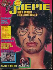 JOEPIE 223 (25/6/78) MICK JAGGER IAN OGILVY LE SAINT JETHRO TULL ABBA GENESIS