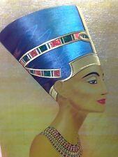 EGYPTION NEFERTITI [DUFEX FOIL PRINT #153086]  BY F.J. WARREN LTD,  ENGLAND