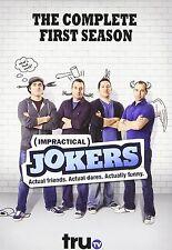 IMPRACTICAL JOKERS - COMPLETE SEASON 1 -  DVD - REGION 1 - Sealed