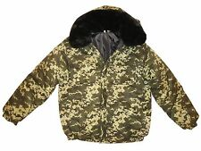 Winter Military Digital Camouflage Jacket Uniform Russian Ukraine BDU Small S 46