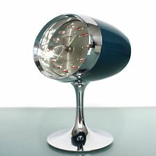 RHYTHM Space Age nr 51141 RETRO Japan STUNNING CONDITION Alarm/Desk/Mantle clock