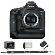 Canon EOS 1D X Mark II DSLR Camera (1DX Mark II) Body Only (BLACK) - BRAND NEW