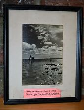 Dick Williams Red Sox Manager Signed Original Amateur Photographer-HOF-Framed