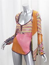 CHRISTIAN DIOR BOUTIQUE Womens Multi-Color Striped Sweater Cardigan+Cami Set 10