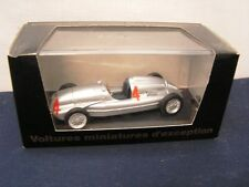 AUTO UNION TYPE D 1938 GP ANGLETERRE TAZIO NUVOLARI - MINIATURE CAR 1/43 -