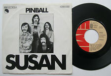 "7"" Pinball - Susan / Rainbow - Jeff Hall Claus Burkhard"