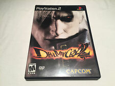 Devil May Cry 2 (Playstation PS2) Original Release Complete LN Perfect Mint!