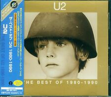 U2 THE BEST OF 1980-1990 JAPAN CD+1BONUS  UICY-2554 OBI RARE