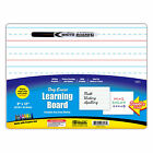 Dry Erase Lap Board Pad with Marker Double Sided Writing Drawing Practice 9x12