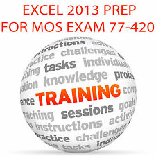 EXCEL 2013 for MOS Certification Exam 77-420 - Video Training Tutorial DVD