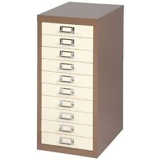 BISLEY 10 MULTI DRAWER FILING CABINET - COFFEE NEW FREE DELIVERY *SPECIAL OFFER*