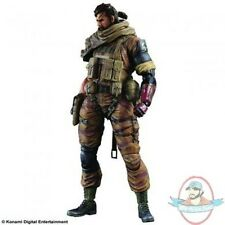 Metal Gear Solid V The Phantom Pain Play Arts Kai Snake Gold Tiger Ver